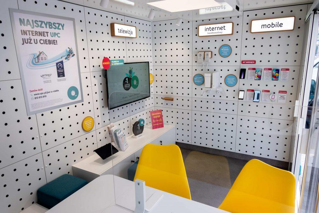 mobilne salony sprzedaży UPC